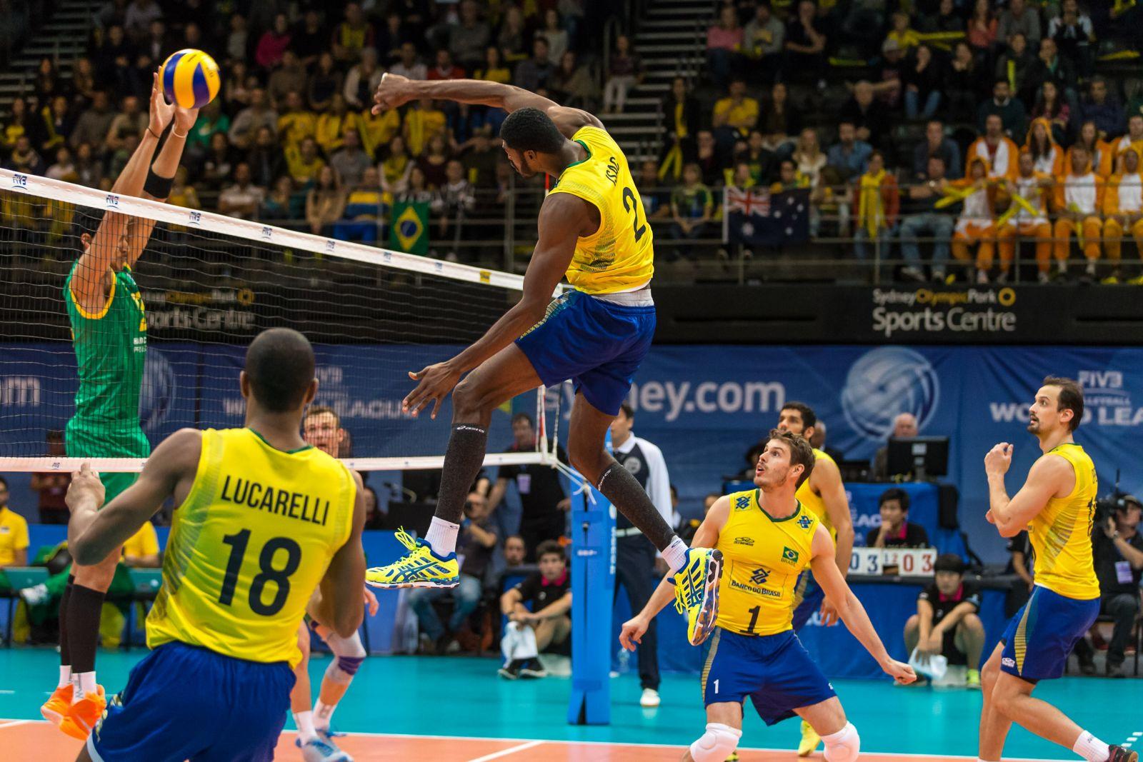Brasil e bulgaria volei masculino
