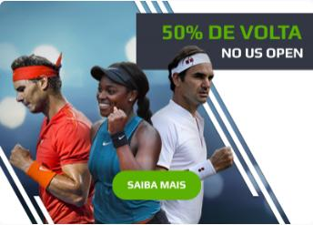 50% de volta no US Open